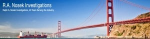 Nosek Investigations serving the Bay Area for 40 years